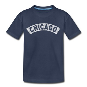 Throwback Chicago Arch - Kids' Premium T-Shirt