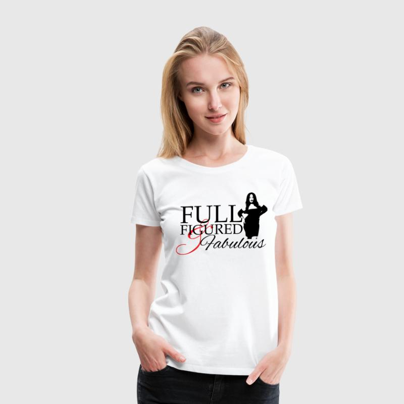 Full Figured & Fabulous Women's T-Shirts - Women's Premium T-Shirt