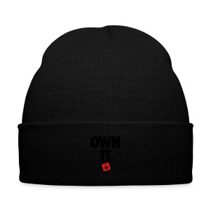 Own It - Women's Shirt - Knit Cap with Cuff Print