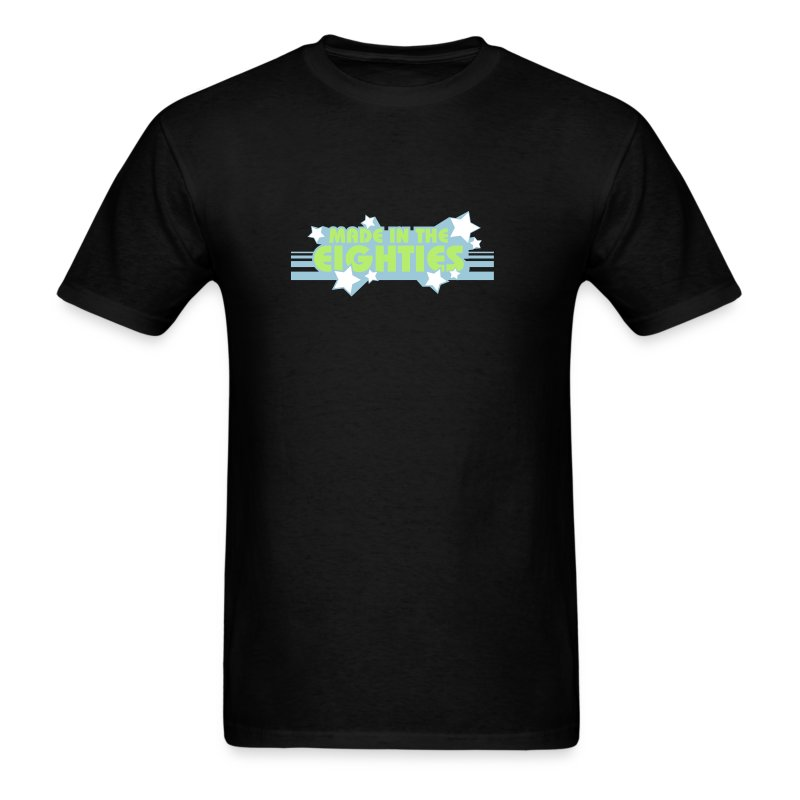 Made in the 80s (Black LW Tee) - Men's T-Shirt