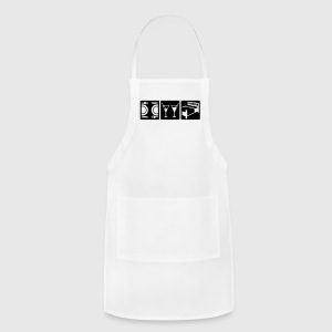 White a perfect date Women's T-Shirts - Adjustable Apron