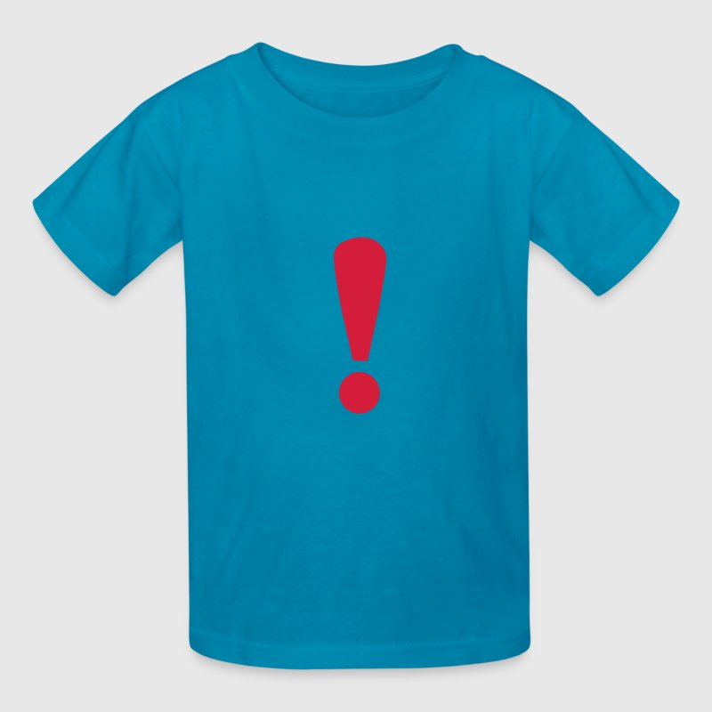 Classic pink Exclamation Mark Kids' Shirts - Kids' T-Shirt