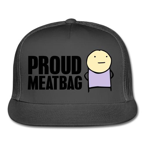 Proud Meatbag hoodie - Trucker Cap