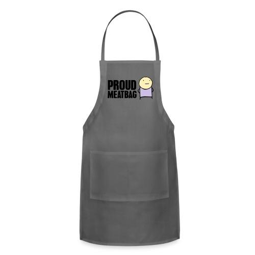 Proud Meatbag hoodie - Adjustable Apron
