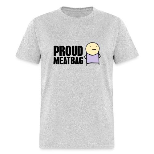 Proud Meatbag hoodie - Men's T-Shirt