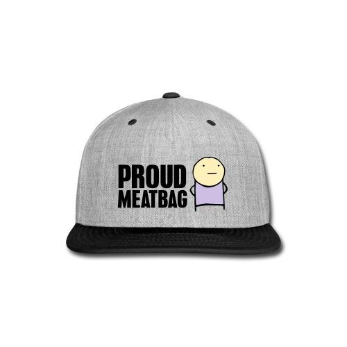 Proud Meatbag hoodie - Snap-back Baseball Cap