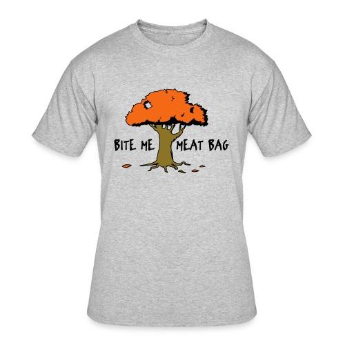 Bite Me Meatbag hoodie - Men's 50/50 T-Shirt