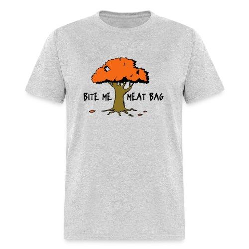 Bite Me Meatbag hoodie - Men's T-Shirt