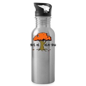 Bite Me Meatbag hoodie - Water Bottle