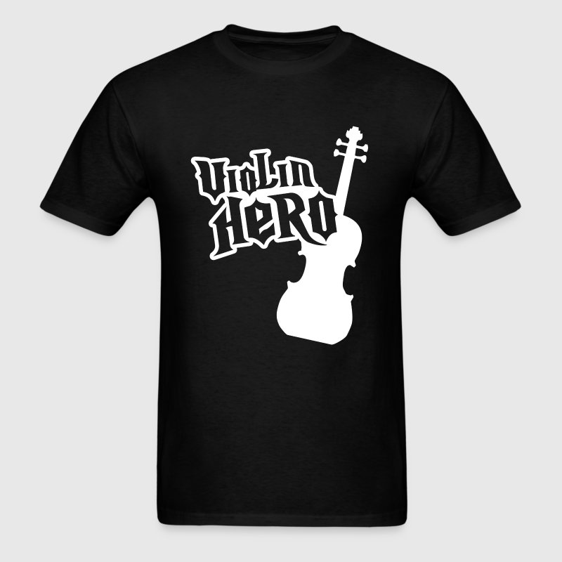 Black Violin Hero T-Shirts - Men's T-Shirt