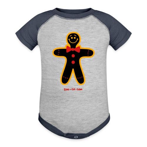 Christmas Cookie Man - Baseball Baby Bodysuit