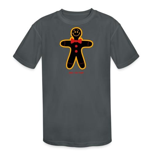 Christmas Cookie Man - Kids' Moisture Wicking Performance T-Shirt