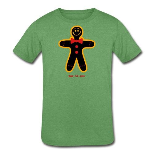 Christmas Cookie Man - Kids' Tri-Blend T-Shirt