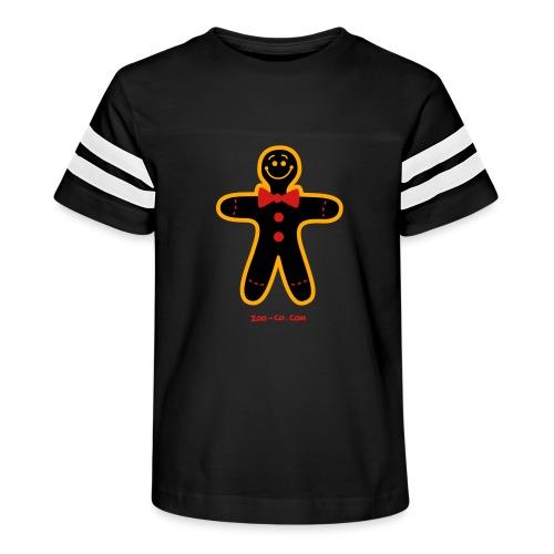 Christmas Cookie Man - Kid's Vintage Sport T-Shirt