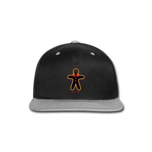Christmas Cookie Man - Snap-back Baseball Cap