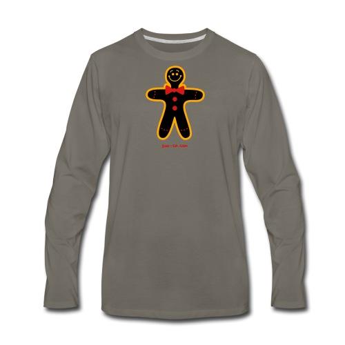 Christmas Cookie Man - Men's Premium Long Sleeve T-Shirt