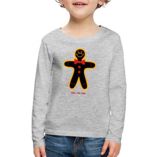 Christmas Cookie Man - Kids' Premium Long Sleeve T-Shirt