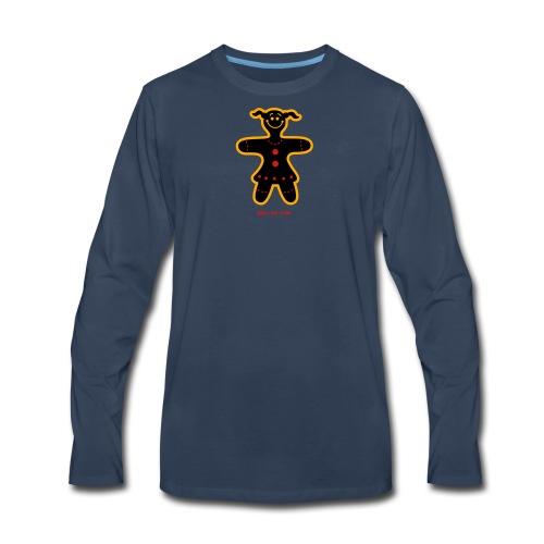 Christmas Cookie Woman - Men's Premium Long Sleeve T-Shirt