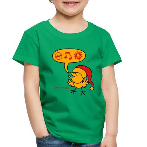 Christmas Chicken making a Wish! - Toddler Premium T-Shirt
