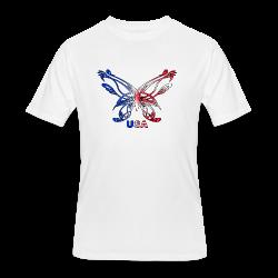 Glowing Heart - Men's 50/50 T-Shirt