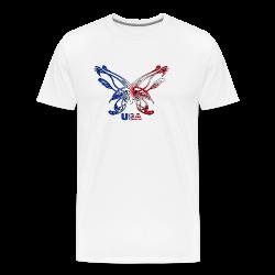 Glowing Heart - Men's Premium T-Shirt