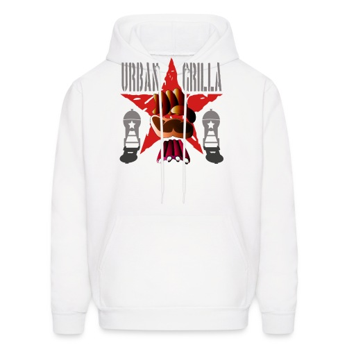 Urban Grilla, barbecue chef / cook - Men's Hoodie