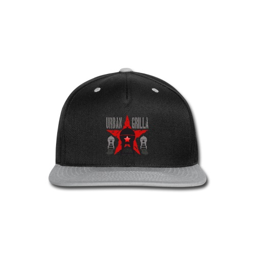 Urban Grilla BBQ, barbecue chef / cook 1 - Snap-back Baseball Cap
