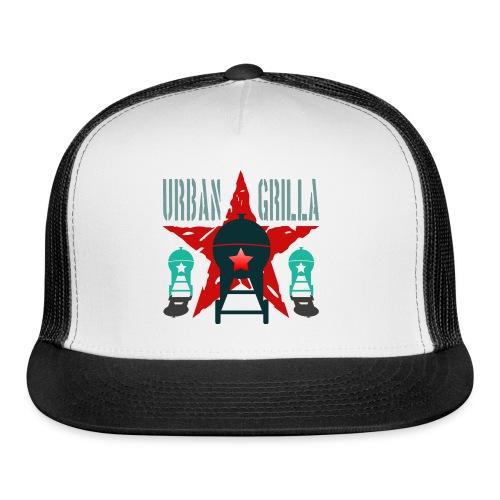 Urban Grilla BBQ, barbecue chef / cook 2 - Trucker Cap