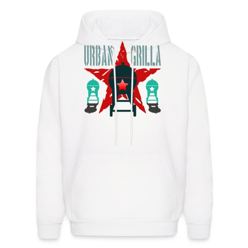 Urban Grilla BBQ, barbecue chef / cook 2 - Men's Hoodie
