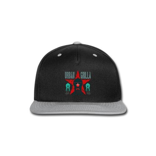 Urban Grilla BBQ, barbecue chef / cook 2 - Snap-back Baseball Cap