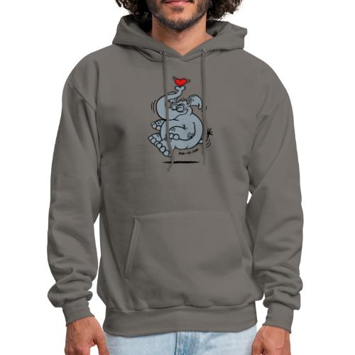 Fly me to the Moon Elephant - Men's Hoodie