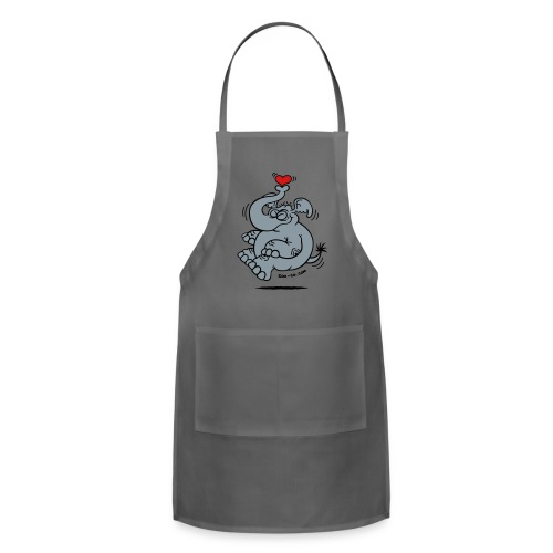 Fly me to the Moon Elephant - Adjustable Apron
