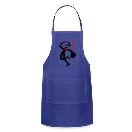 Man with Red Rose - Adjustable Apron