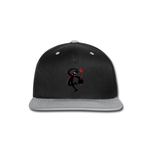 Man with Red Rose - Snap-back Baseball Cap