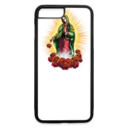 R-105 Guadalupe Glow Women's tee - iPhone 7 Plus/8 Plus Rubber Case