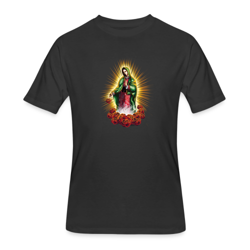 R-105 Guadalupe Glow Women's tee - Men's 50/50 T-Shirt