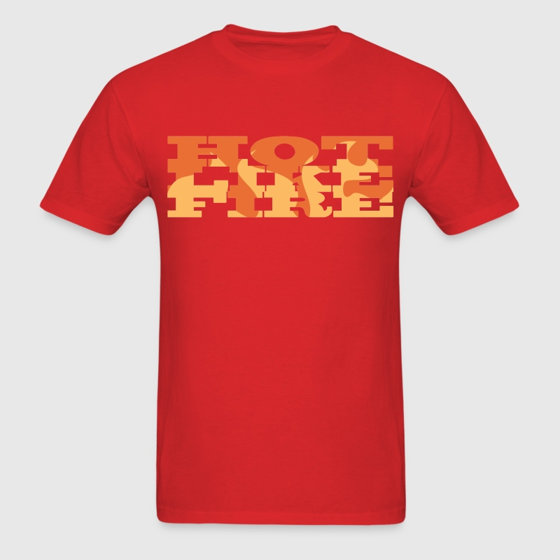 Red Hot Like Fire T-Shirts - Men's T-Shirt