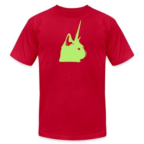 Men's Electric Unicat - Men's Fine Jersey T-Shirt
