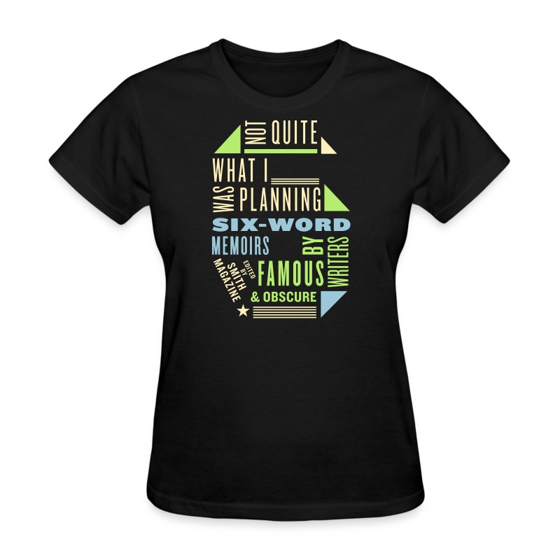Ladies Six Memoir Tee - Women's T-Shirt