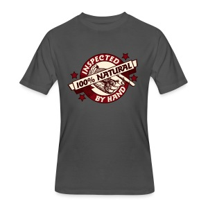 100% Natural Inspected by Hand - Men's 50/50 T-Shirt