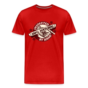100% Natural Inspected by Hand - Men's Premium T-Shirt
