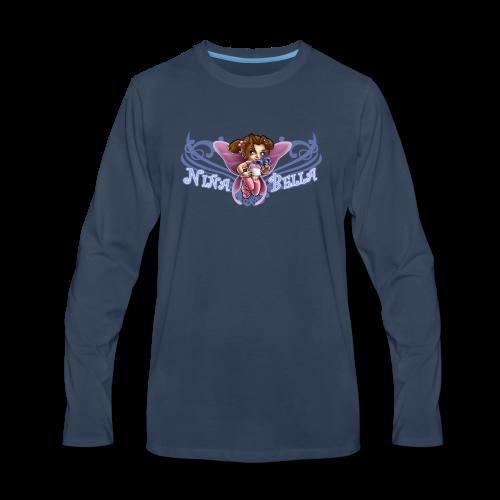 K-103 Nina Bella - Men's Premium Long Sleeve T-Shirt