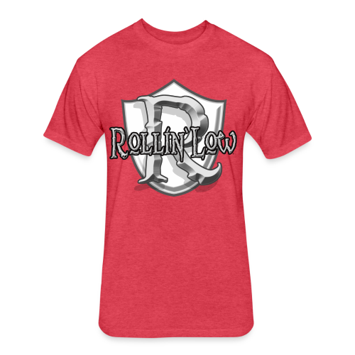 Rollin Low Shield  - Fitted Cotton/Poly T-Shirt by Next Level