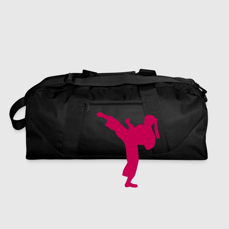 Karate Girl Duffle Bag - Duffel Bag