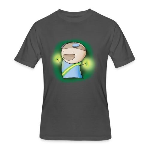 Charles the Raver Tee - Men's 50/50 T-Shirt