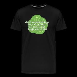Avoid Roasted Cabbage (Unisex) - Men's Premium T-Shirt