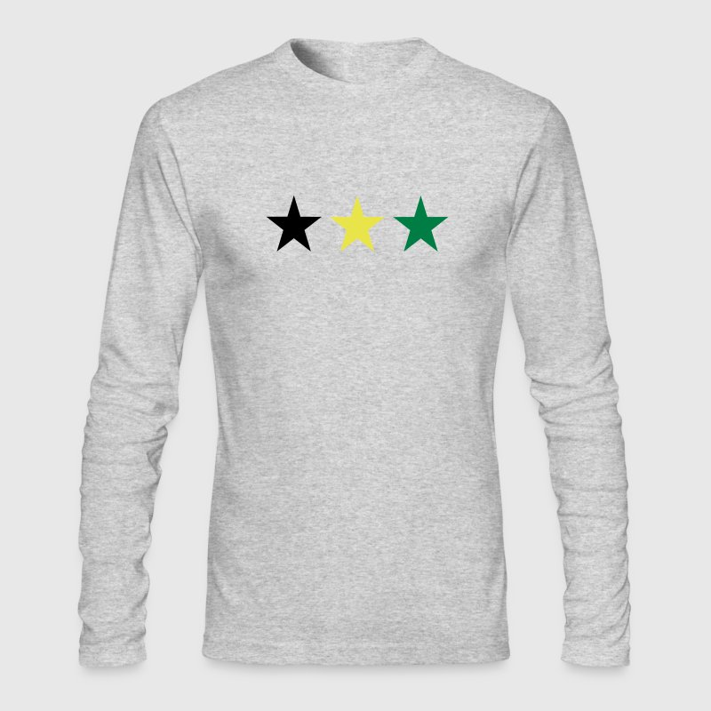 Heather grey Jamaica Long Sleeve Shirts - Men's Long Sleeve T-Shirt by Next Level