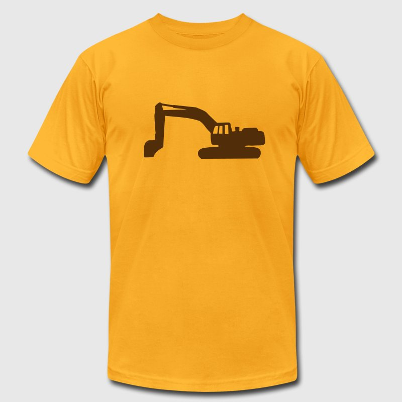 Gold Digger - Excavator T-Shirts - Men's T-Shirt by American Apparel