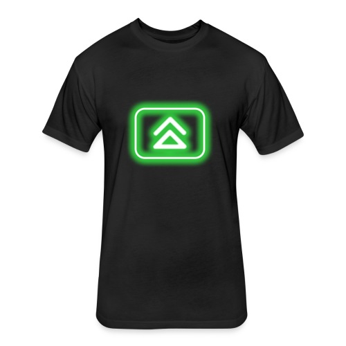 blur: Nitro Power-up - Fitted Cotton/Poly T-Shirt by Next Level