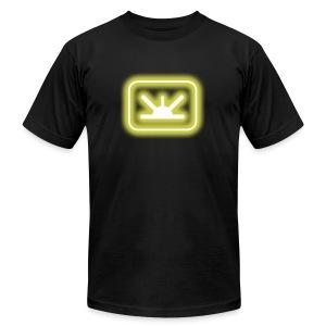 blur: Mine Power-up - Men's Fine Jersey T-Shirt